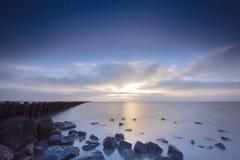 Waddenzee, Nederland /Netherlands immagini stock