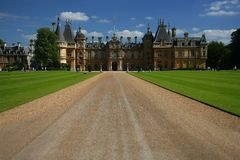 Waddesdon castle Stock Images