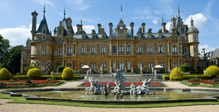 Waddesdon manor. A manor house in Buckinghamshire Stock Images