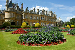 Waddesdon manor. A house manor in Buckinghamshire Royalty Free Stock Photography