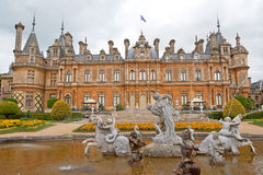Waddesdon Manor and garden in England Stock Photography