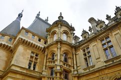 Waddesdonmanor Oxfordshire Royalty-vrije Stock Foto's