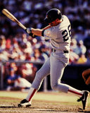Wade Boggs, Boston Red Sox. Boston Red Sox 3B Wade Boggs. Image taken from color slide royalty free stock photo