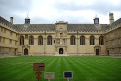 Wadham College Royalty Free Stock Photos