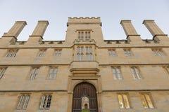 Wadham college, oxford university Stock Image
