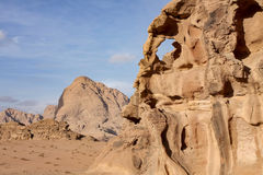wadi ρουμιού της Ιορδανίας Στοκ εικόνες με δικαίωμα ελεύθερης χρήσης