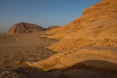 wadi ρουμιού της Ιορδανίας &epsilo Στοκ εικόνα με δικαίωμα ελεύθερης χρήσης