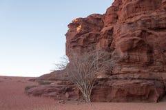 wadi ρουμιού της Ιορδανίας &epsilo Στοκ φωτογραφίες με δικαίωμα ελεύθερης χρήσης