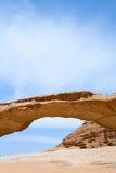 wadi ψαμμίτη ρουμιού βράχου επιδορπίων γεφυρών Στοκ Εικόνες