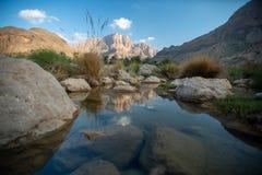 Wadi Al Arbeieen Oman Stock Photography