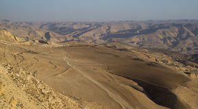 Wadi al Hasa, Jordanie Photographie stock