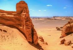 Wadi Al Hitan Royalty-vrije Stock Foto's