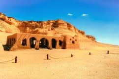 Wadi Al Hitan Stock Afbeelding