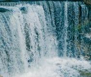 Wadi Alrayan & x27; cascate di s Fotografie Stock Libere da Diritti