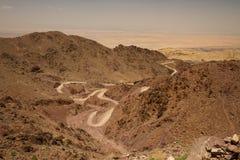 Wadi Araba stock afbeeldingen