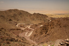 Wadi Araba Stock Images