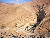 Wadi Bani Khalid. Ash Sharqiyah region, Oman Stock Photography