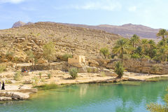 Wadi Bani Khalid, Ash Sharqiyah region Royalty Free Stock Images