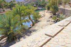 Wadi Bani Khalid, Ash Sharqiyah region Royalty Free Stock Image