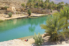 Wadi Bani Khalid, Ash Sharqiyah region Stock Images