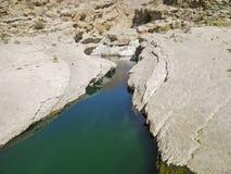 Wadi Bani Khalid, Ash Sharqiyah region Royalty Free Stock Photos