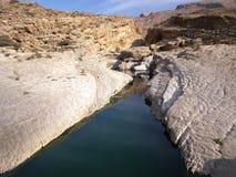 Wadi Bani Khalid. Morning in Wadi Bani Khalid Stock Photography