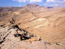 Wadi Bani Khalid. Morning view on Wadi Bani Khalid Stock Image