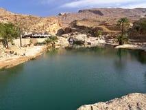 Wadi Bani Khalid, Oman Photographie stock libre de droits