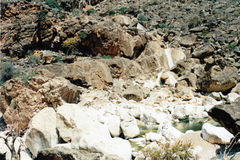 Wadi Clison Stockbilder