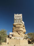 Wadi Dahr, summer residenceof imam Yahya Stock Photos
