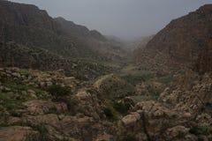 Wadi Dana Royaltyfria Foton