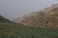 Wadi Dana Royaltyfria Bilder