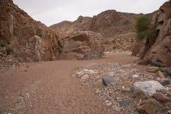 Wadi Dana Royaltyfri Fotografi