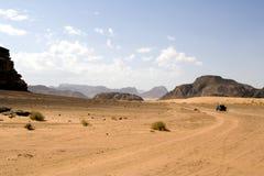 wadi del rum del deserto Fotografie Stock