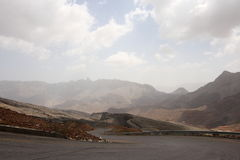 Wadi Ghul in Oman Royalty Free Stock Photo