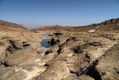 Wadi Hatta, Oman Photo libre de droits