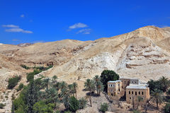 Wadi Kelt, near Jerusalem Stock Images