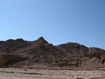 Wadi and mountains. Nice path between a mountains Royalty Free Stock Image