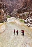 Wadi Mujib Stock Afbeeldingen