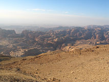 Wadi musa Royalty Free Stock Photo