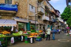 Wadi Nisnas Market, Haifa Royalty Free Stock Photos