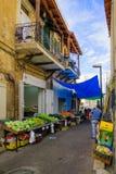 Wadi Nisnas Market, Haifa Stock Images