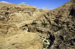 Wadi Qelt canyon. Stock Photography