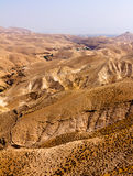 Wadi Qelt Judean Desert Photos libres de droits