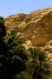 Wadi Qelt, Judean Desert. Israel Stock Photos