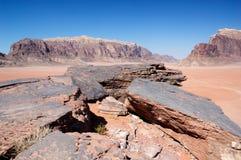 Wadi Ram Royalty Free Stock Photos