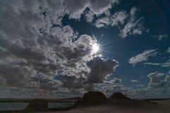Wadi Rayan Photographie stock libre de droits