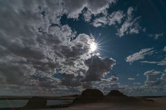 Wadi Rayan Στοκ φωτογραφία με δικαίωμα ελεύθερης χρήσης