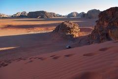 Wadi Rum – Jordan desert Royalty Free Stock Photos