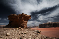 Wadi Rum Royalty Free Stock Image